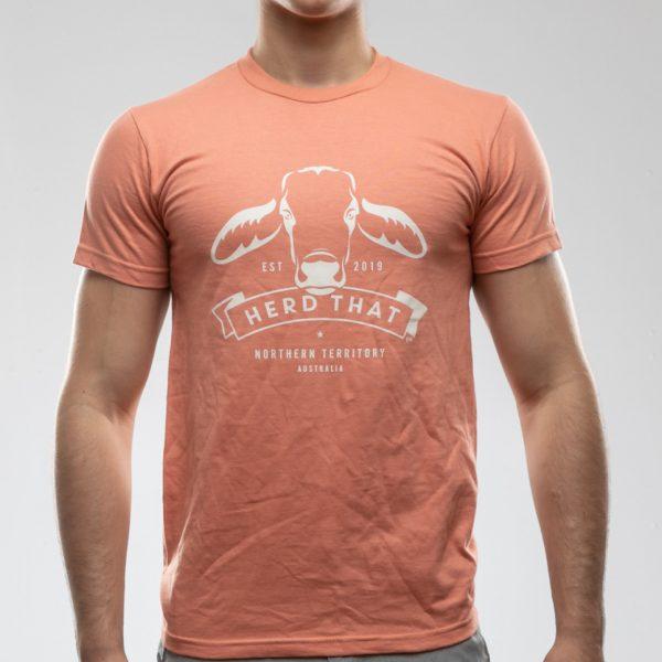 TShirt - Terracotta - 1 colour logo