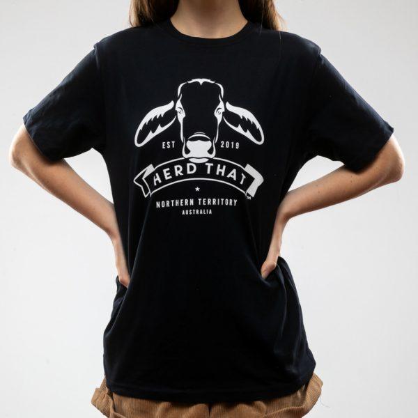 Tshirt - Navy - 1 colour logo 3