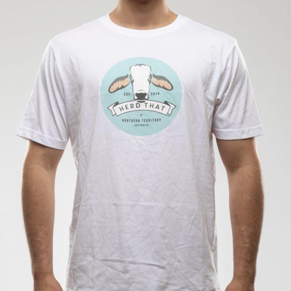 Tshirt - White - Round Logo